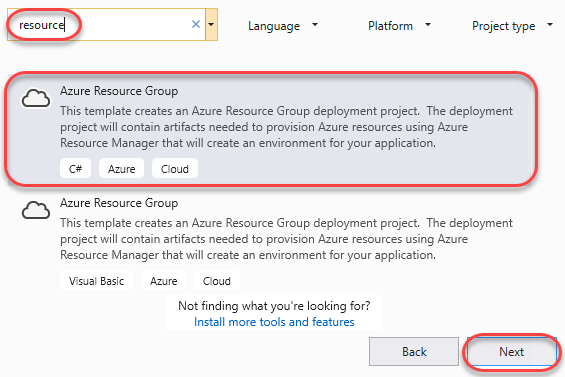 Authoring ARM Templates with Visual Studio | Azure DevOps