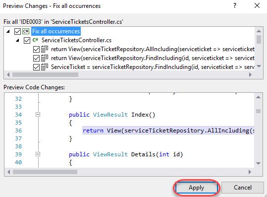 Using Code Analysis with Visual Studio 2019 to Improve Code