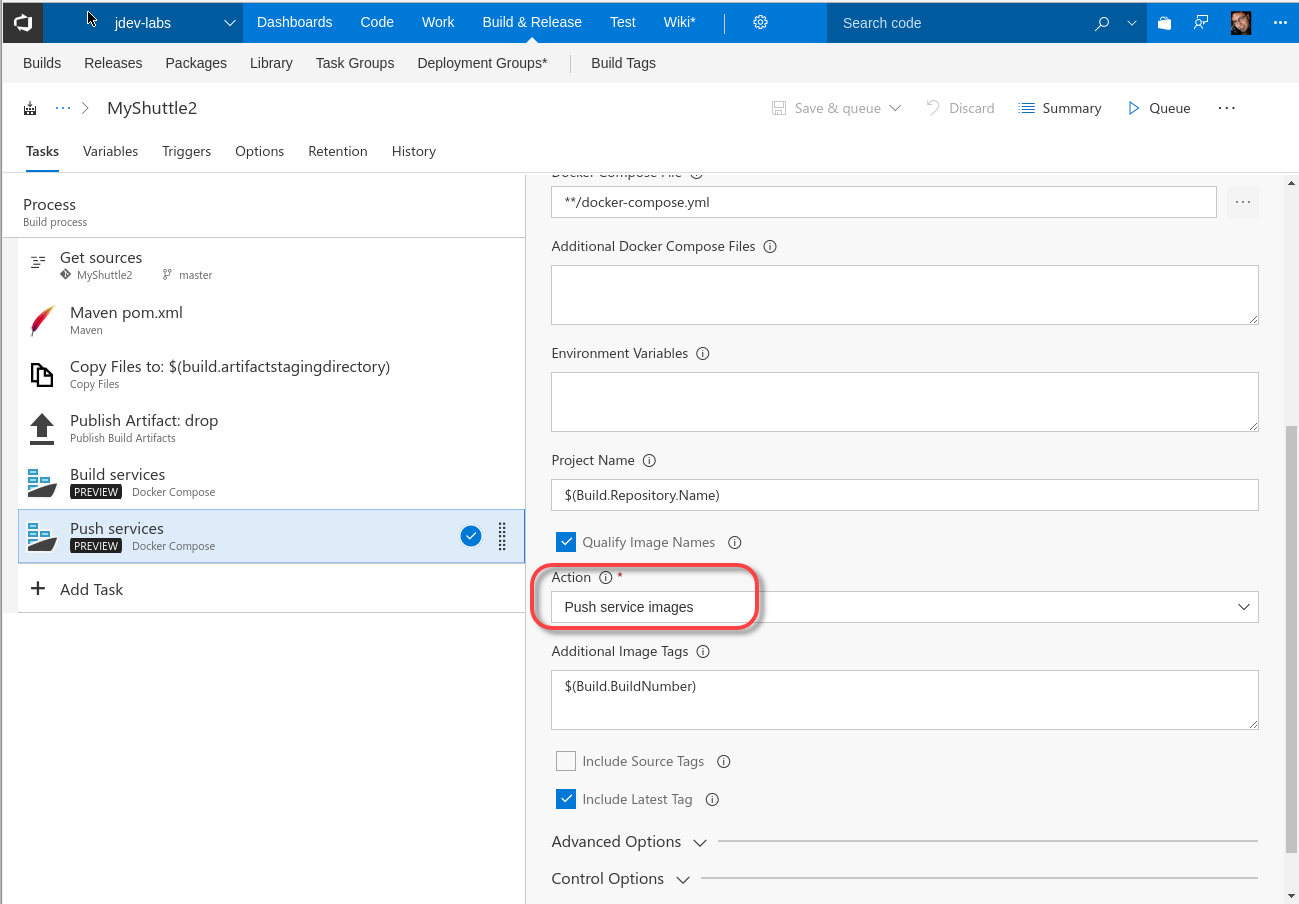 Build and publishing Docker images | Azure DevOps Hands-on-Labs