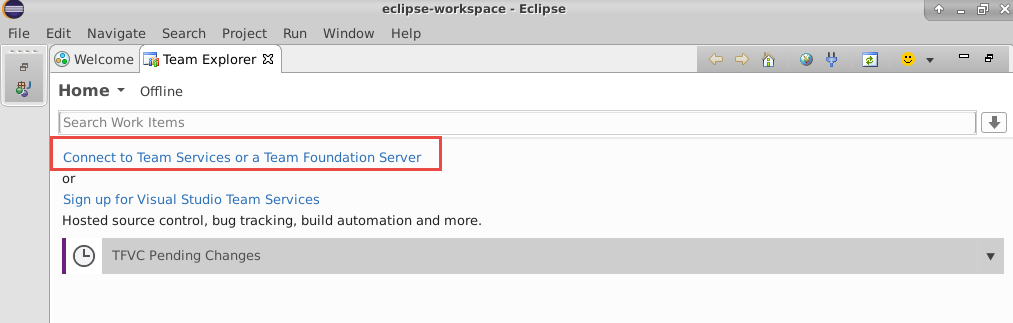 Cloning a VSTS code repository in Eclipse | Azure DevOps