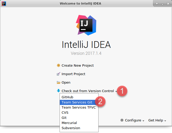 Working with IntelliJ | Azure DevOps Hands-on-Labs