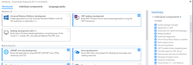 Developer Experience Enhancements in Visual Studio 2017