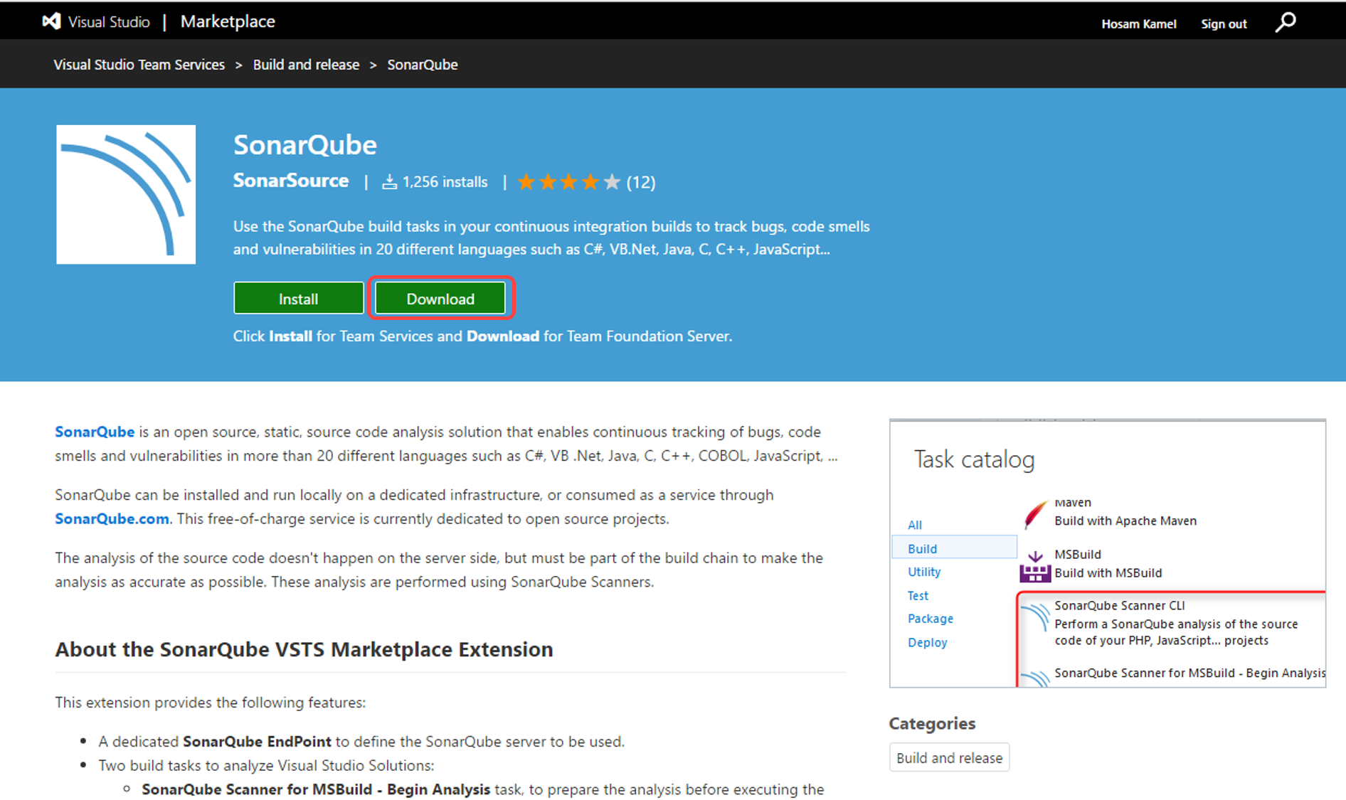 Managing Technical Debt with Team Foundation Server and SonarQube