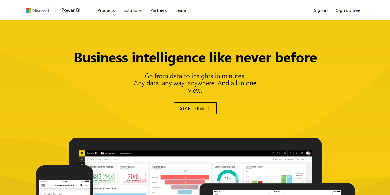 Connect to Visual Studio Team Services with Power BI | Azure